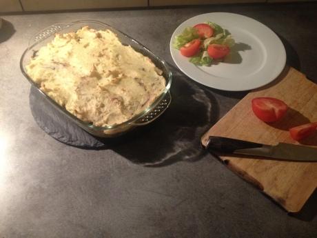 Parmentier aux pommes boudin noir et oignons caramélisés (4) - It's Her Mess