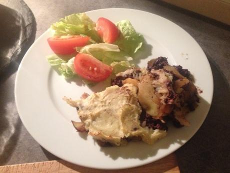 Parmentier aux pommes boudin noir et oignons caramélisés (5) - It's Her Mess