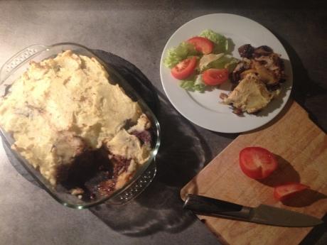 Parmentier aux pommes boudin noir et oignons caramélisés (7) - It's Her Mess