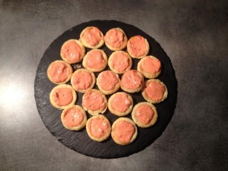 Canapés poivrons confits chavroux - It's Her Mess (2)