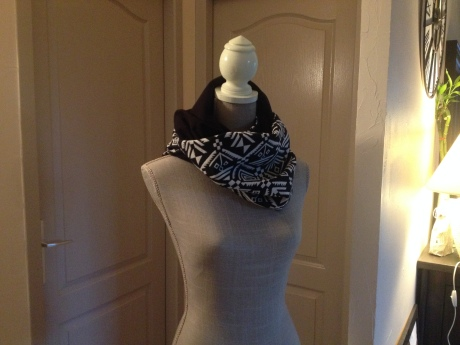 DIY - Snood réversible couture - It's Her Mess (2)