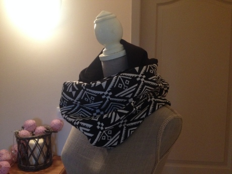 DIY - Snood réversible couture - It's Her Mess (4)