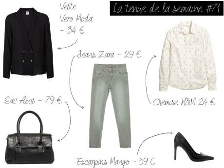 La tenue de la semaine #71 - It's Her Mess