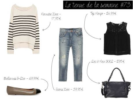 La tenue de la semaine #73 - It's Her Mess