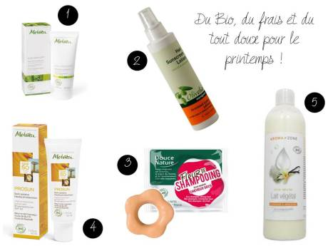 Ma wishlist beauté bio du printemps - It's Her Mess