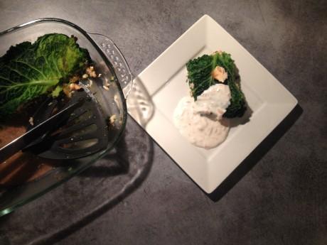 Mille feuilles saumon chou et sa petite sauce blanche - It's Her Mess (2)